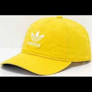 Adidas Women's Cap Yellow